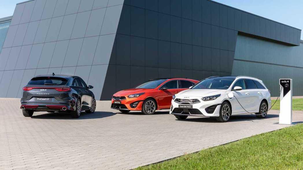小改款Kia Ceed、Ceed Sportswagon、ProCeed正式亮相...