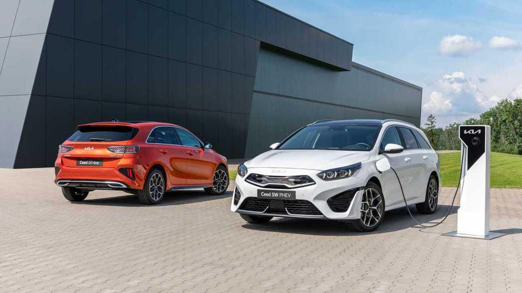小改款Kia Ceed、Ceed Sportswagon正式亮相。 摘自Kia