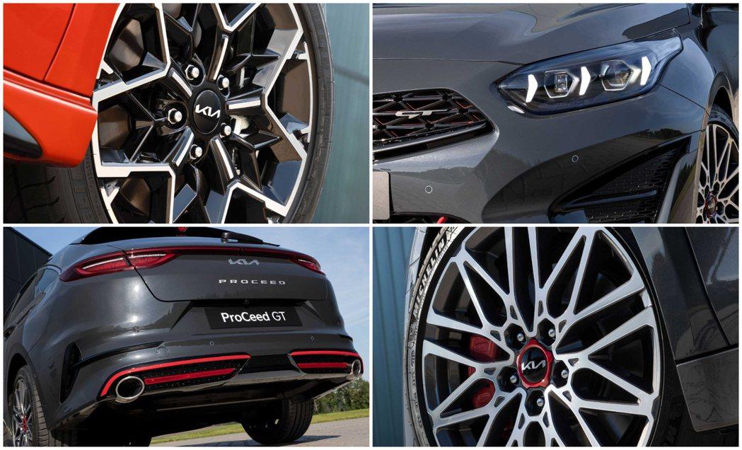小改款Kia Ceed家族共有13種車身塗裝可選,足下的鋁圈配置則可依據車型不同...