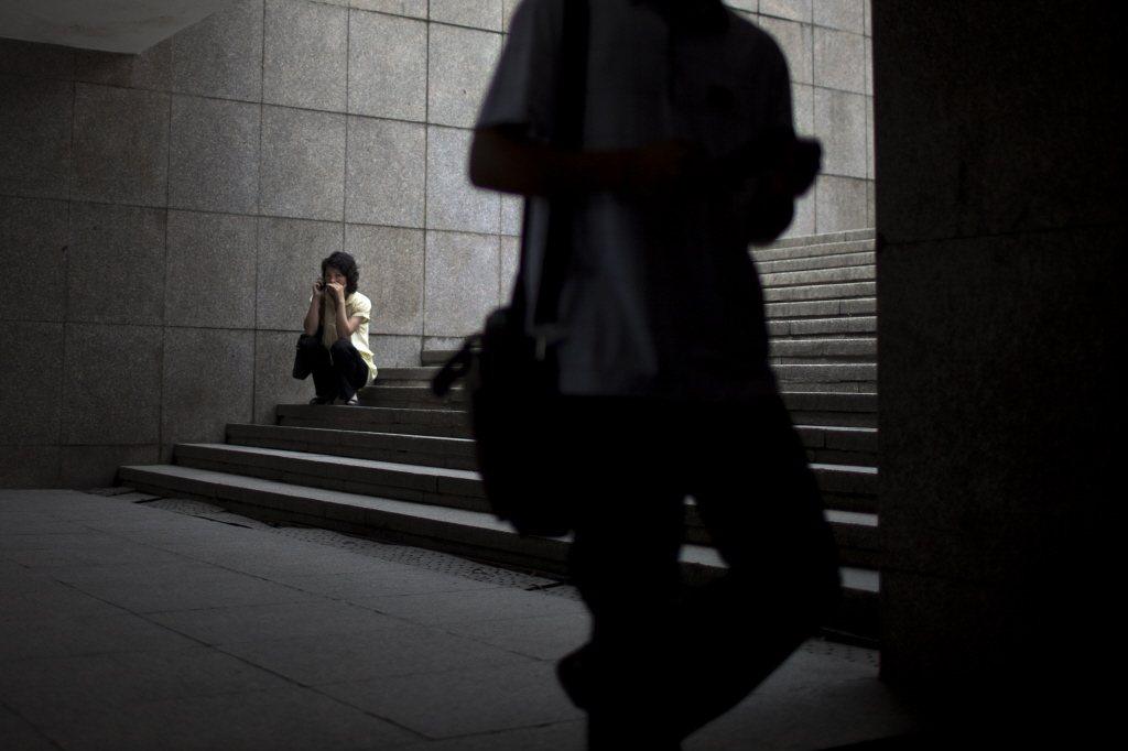 2018年7月,JTBC調查報導小組「TRGGR」開始追蹤「非法拍攝影像」的流通管道,隨後在一個名為「阿O」的人氣隨機聊天軟體上發現性犯罪事件。示意圖。 圖/美聯社