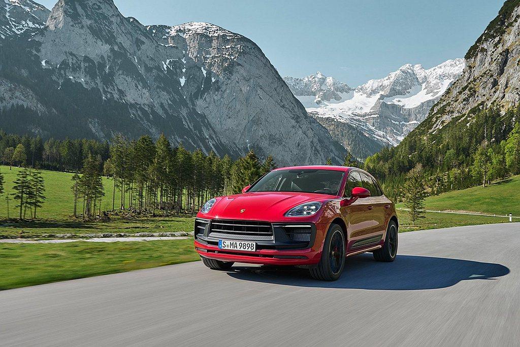 保時捷GTSMacan GTS出色的反應能力以及動力輸出表現,配備跑車計時套件(...