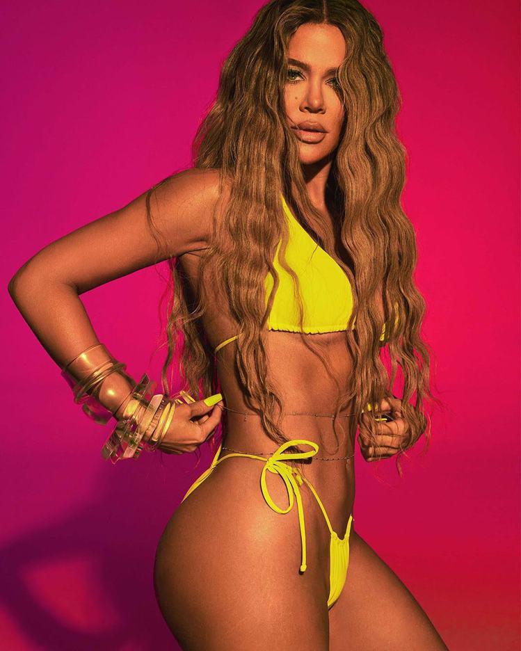 社交名媛科勒卡戴珊Khloé Kardashian為了宣傳自創品牌,不惜放送堪...