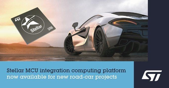 Stellar SR6 P與G系列可擴充的高整合度處理器平台,定位高階車身與動力...