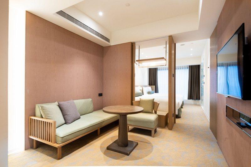 台北凱達東奧主題的一泊二食優惠住房專案,四人家庭套房4,888元起。  業者/提...