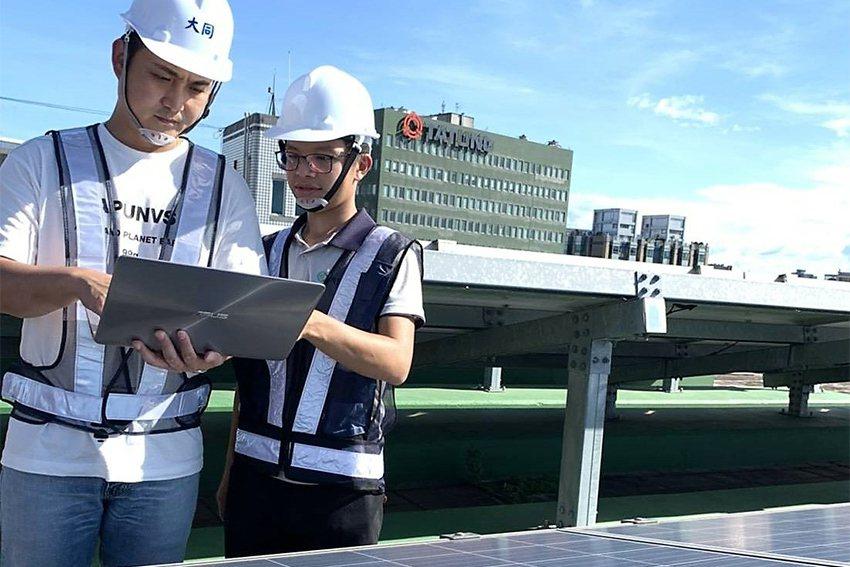 大同永旭研發的太陽能監控系統,結合AI運算技術,使維運人員可以遠端監控,快速準確...