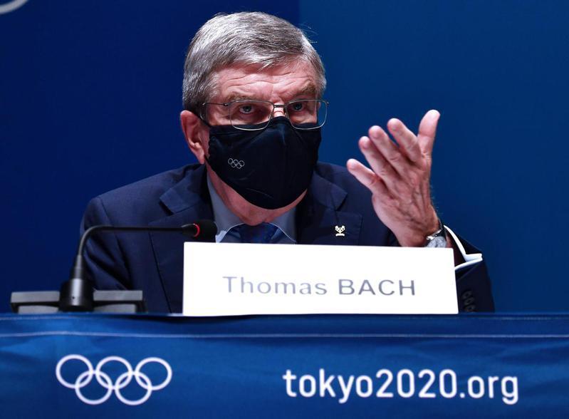 國際奧林匹克委員會(IOC)主席巴赫。 新華社
