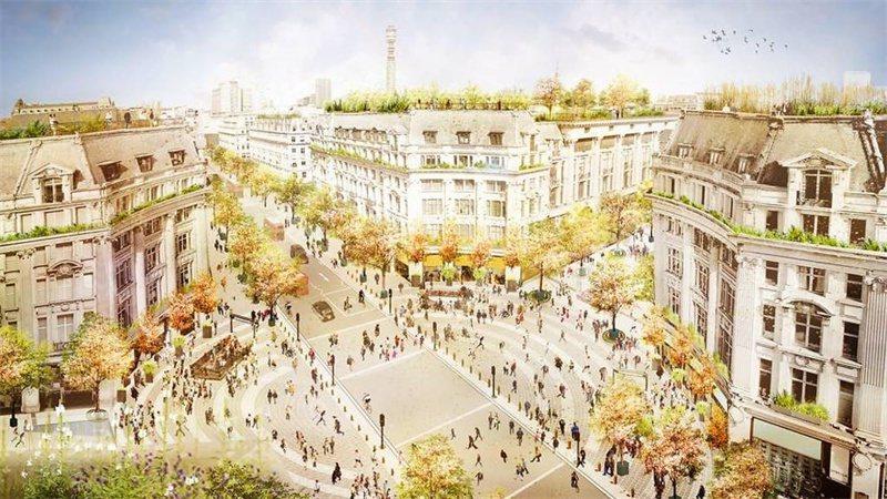 倫敦牛津街未來的樣貌  / 來源:Publica,Westminster Council