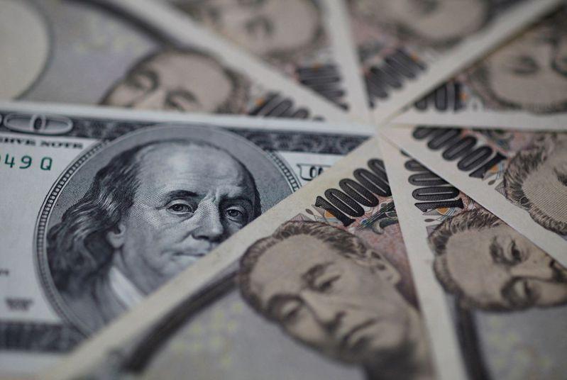 日圓周一在避險貨幣中最強。路透