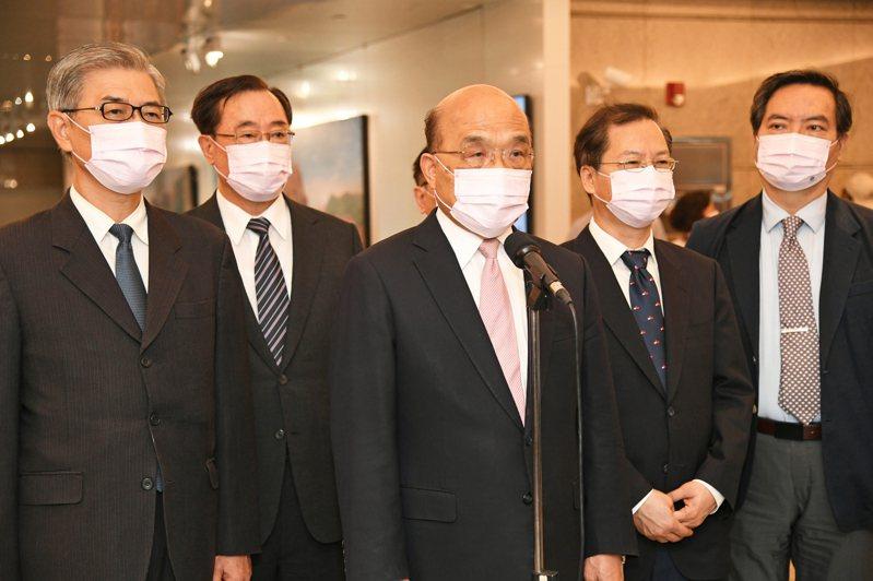 行政院長蘇貞昌今出席活動受訪。圖/取自行政院