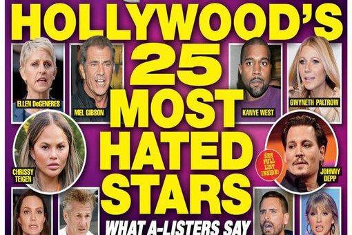 好萊塢紅星人前光鮮亮麗,人後各有各的脾氣,有些人至少還會在意不讓旁人太難受,有些人就毫不在意只願做自己,難免樹敵。專門報導明星名流八卦的「國家詢問報」近期再度推出「好萊塢最被討厭的25位明星」專題,...