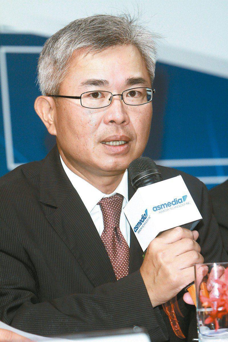 祥碩總經理林哲偉。報系資料照