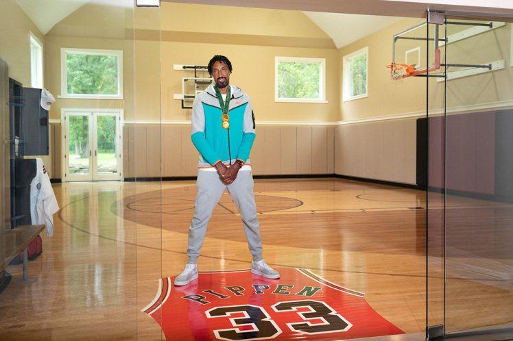 全球獨家!奧運期間開箱NBA傳奇球星Scottie Pippen的豪宅。圖/Ai...