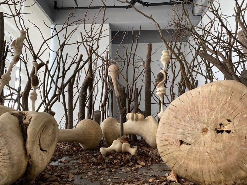 三義木雕藝術節系列活動拉開序幕,今起由「台灣國際木雕裝置藝術大展」率先起跑。圖/三義木雕館提供