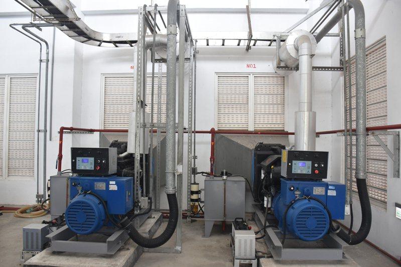 九河局於2013年設置榮光抽水站,讓低窪地區免於淹水之苦。記者王思慧/攝影