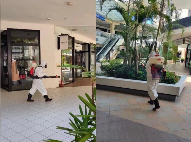 林口三井Outlet昨傳出有櫃姐確診,百貨緊急宣布停業,配合清消作業。圖/報系資料照