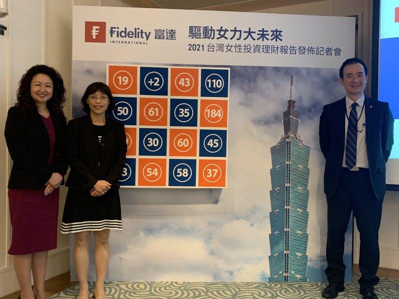 富達投信投資部主管張翠玲(左二)表示,今年下半年的投資關鍵字為IMF。 本報資料照片