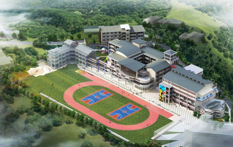 羅浮高中是桃園市原鄉唯一的高中,也是原民高中重點學校。圖/羅浮高中提供
