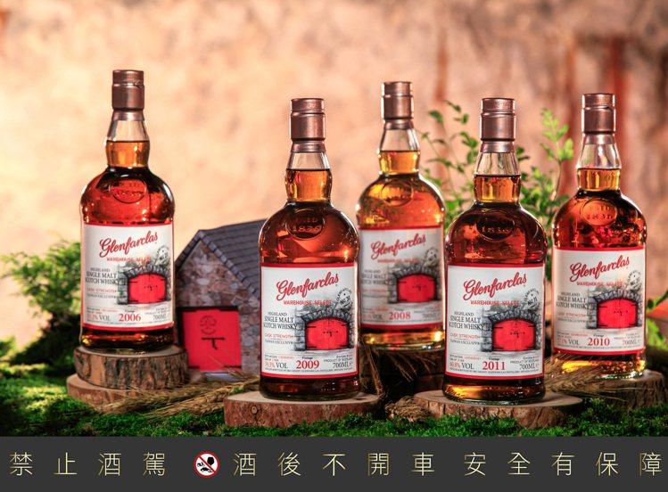 格蘭花格紅門窖藏原酒系列,每一款酒皆由格蘭花格第五代傳人John Grant自家...