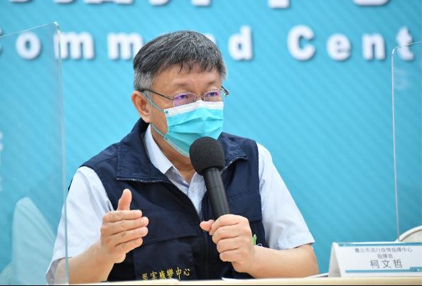 是否還要自購疫苗?柯文哲說,今年12月才需要定案,還是先觀看整個台灣社會對疫苗的準備狀況,還有全世界病毒演化速度,這個他無預設立場。圖/北市府提供