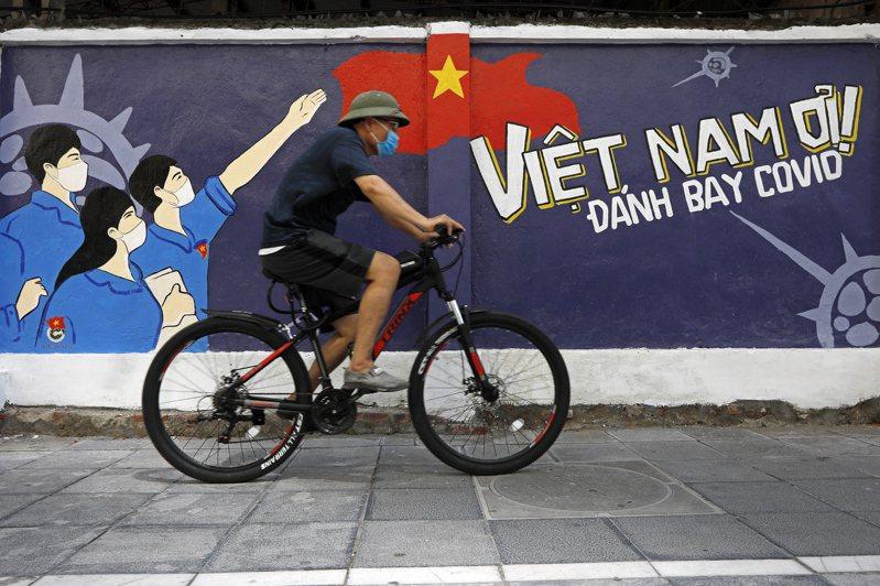 越南疫情燒不停,停工或就地安置人員的企業不斷增加。 歐新社
