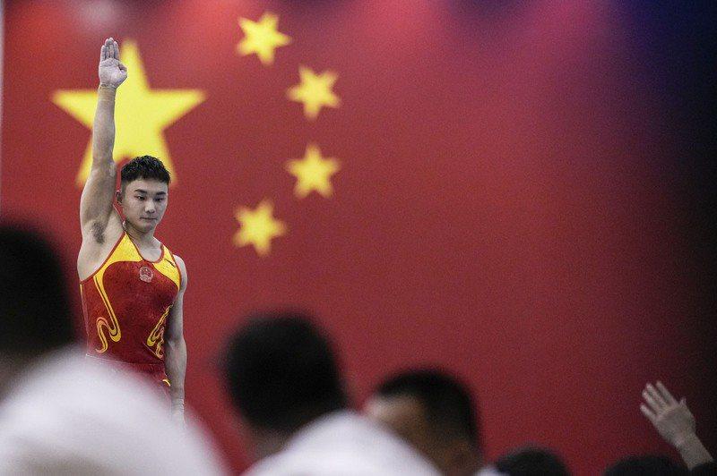 大陸參加本屆東京奧運會的代表團總人數達777人,號稱是除北京奧運之外,到境外參賽的史上最大奧運代表團。圖/取自澎湃新聞