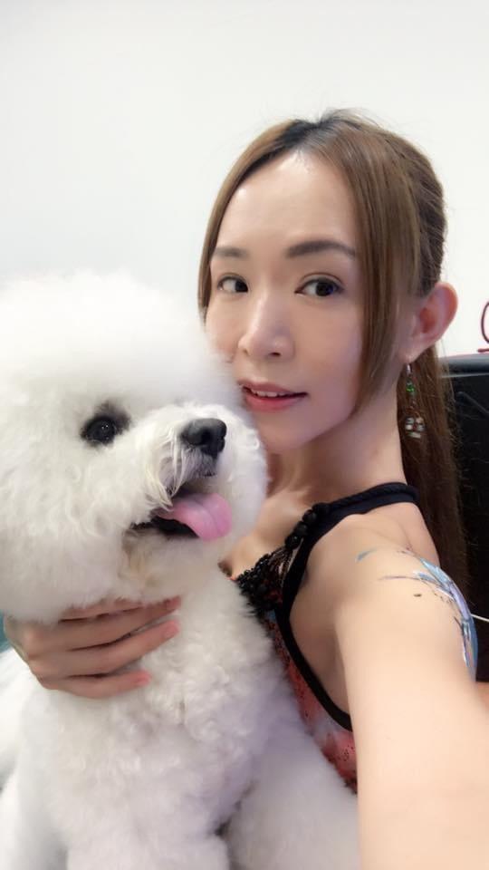 有「台北海大范文芳」封號的教授王宥婷,本身就養有不少寵物。圖/台北海大提供