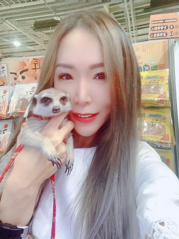 王宥婷愛動物成癡,又被封「寵物教主」。圖/台北海大提供
