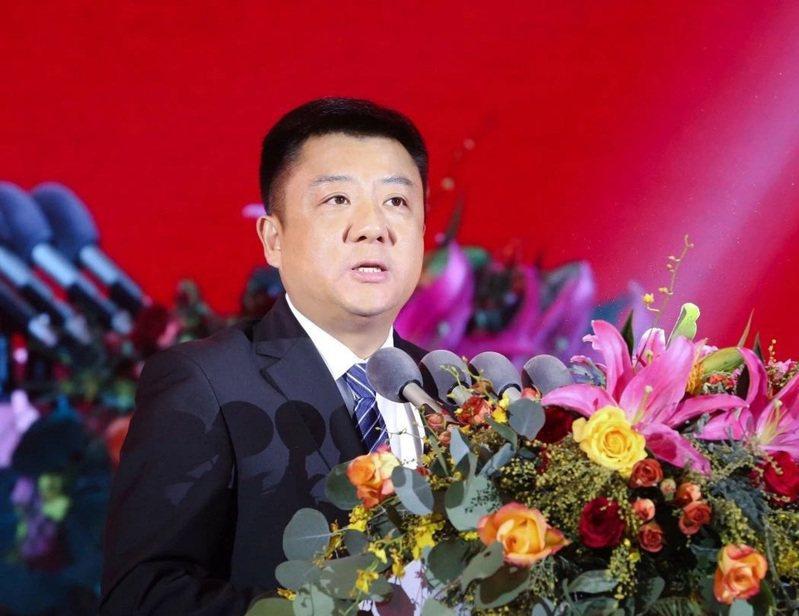 杜小剛晉升成江蘇最年輕市委書記,曾在昆山爆炸事故後臨危受命。記者林宸誼╱攝影
