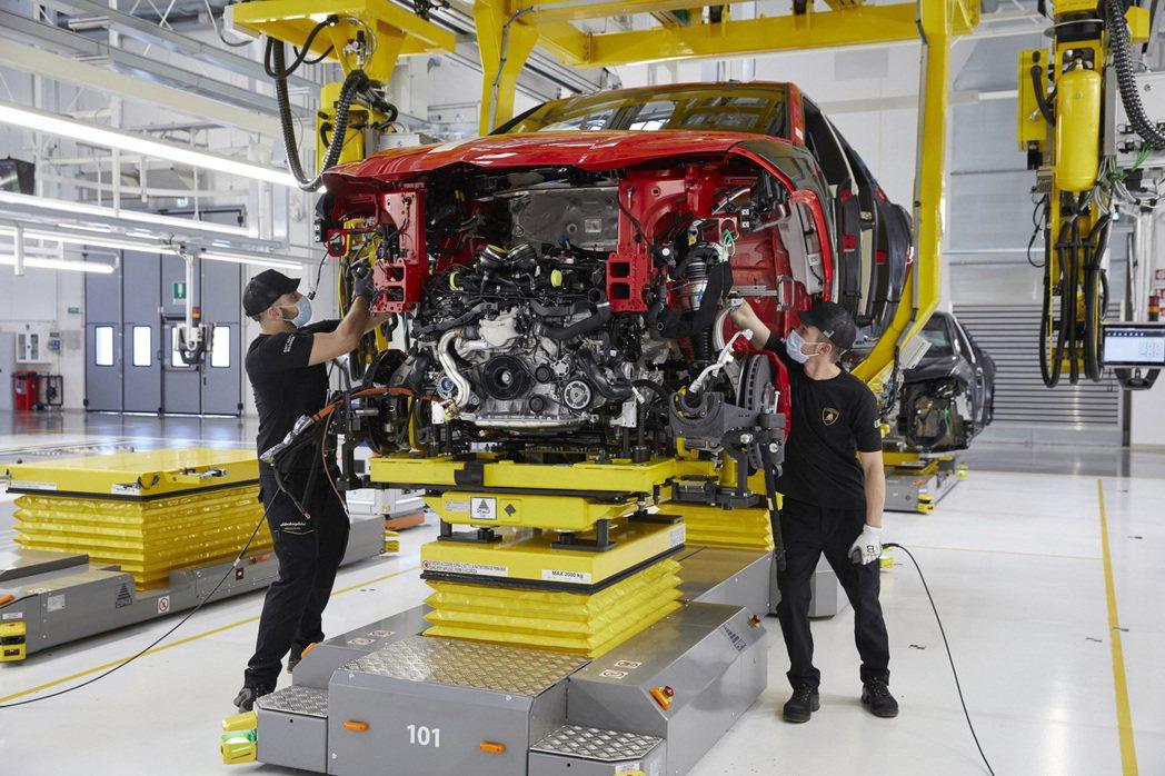 Lamborghini在2021年上半年售出4,852輛車,創下品牌有史以來最佳...