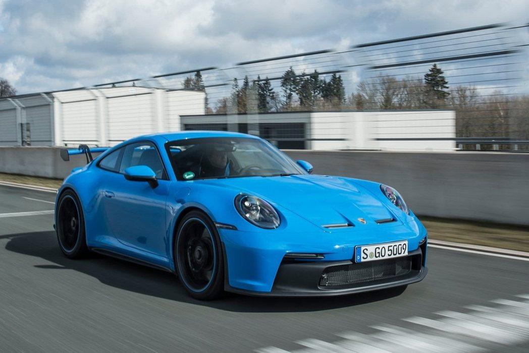 Porsche 911 GT3。 摘自Porsche