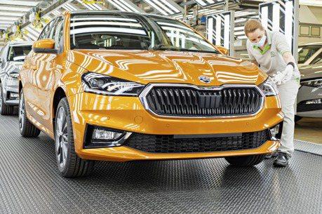 品牌史上第二暢銷車款 MQB平台的新世代ŠKODA Fabia捷克廠正式下線!