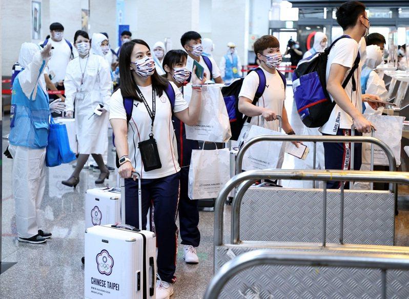 東京奧運開幕剩僅僅2天,台灣卻爆出總領隊蔡辰威嗆選手事件。 聯合報系資料照