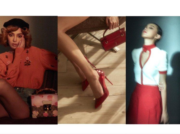 Kiwi的IG時尚照片風格多變,宛如可看性高的攝影圖輯。圖/取自IG