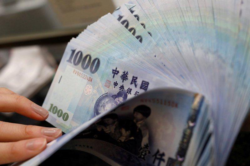 新台幣匯率連四貶,今(21日)貶值1.3分,收在28.073元。路透