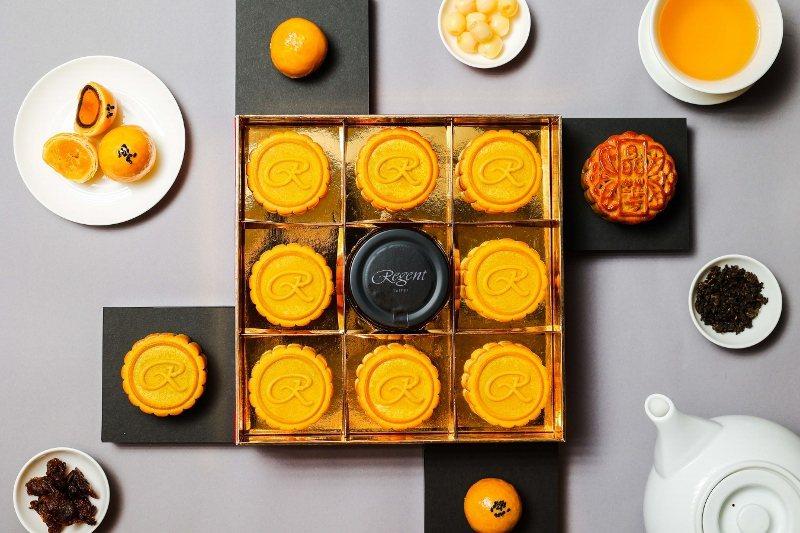 晶華酒店推出4款中秋月餅,早早鳥優惠開跑。 晶華/提供