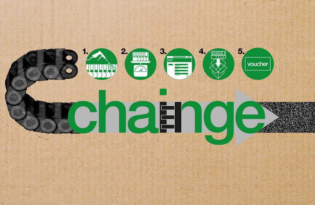 如何利用廢棄拖鏈生產塑膠顆粒:1. 清潔拖鏈 2. 稱重 3. 填寫表格並與我們...