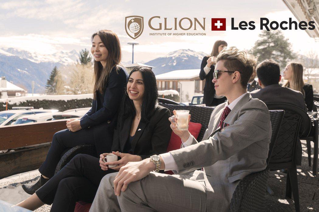 圖說: 瑞士「Glion格里昂」、「Les Roches雷赫士」兩大學名校,將在...