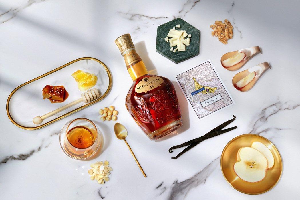 皇家禮炮全新21年威士忌-王者之鑽,調和已逝鄧巴頓酒廠珍貴佳釀,再現絕世風味。保...