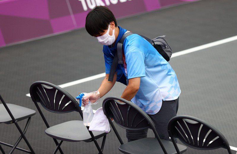 一名智利女跆拳道選手因確診COVID-19(2019冠狀病毒疾病)被迫棄權,這是東奧選手染疫無法出賽首例。 路透社