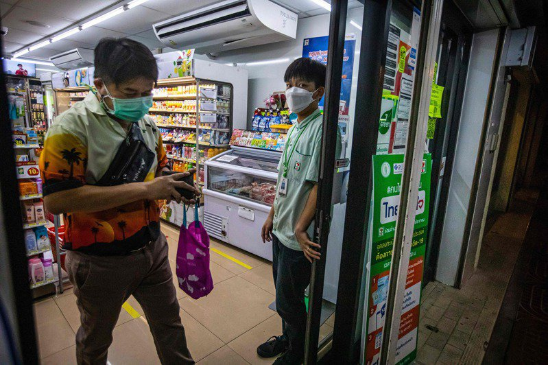 泰国疫情严峻,今天新增1万3002人确诊,再度创下单日新增纪录。 法新社(photo:UDN)
