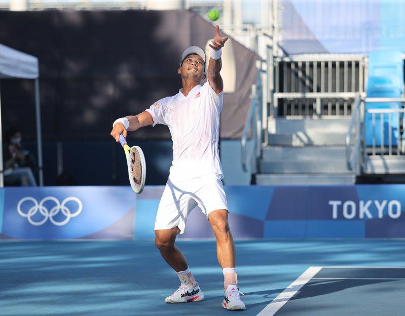 男子網球好手盧彥勳5度打奧運意義不同,選擇東京奧運作為20年網球生涯最後一役。 圖/體育署提供
