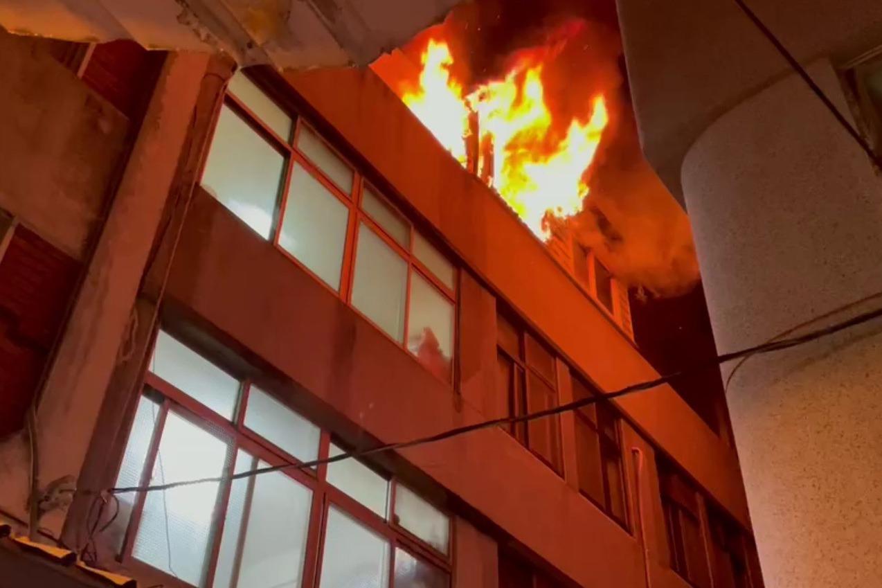 澎湖馬公重光市場店鋪火警 幸無傷亡