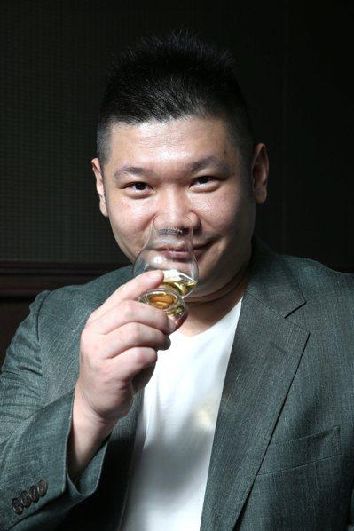 台灣單一麥芽俱樂部創辦人吳哲文。記者/蘇健忠攝影。