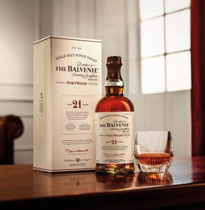 百富波特桶21年是首席調酒大師大衛‧史都華代表作之一。圖/格蘭父子提供。提醒您:...