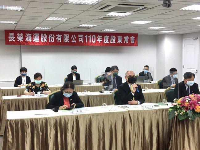 長榮海運董事長張衍義看好今年、明年海運市場。長榮海運提供
