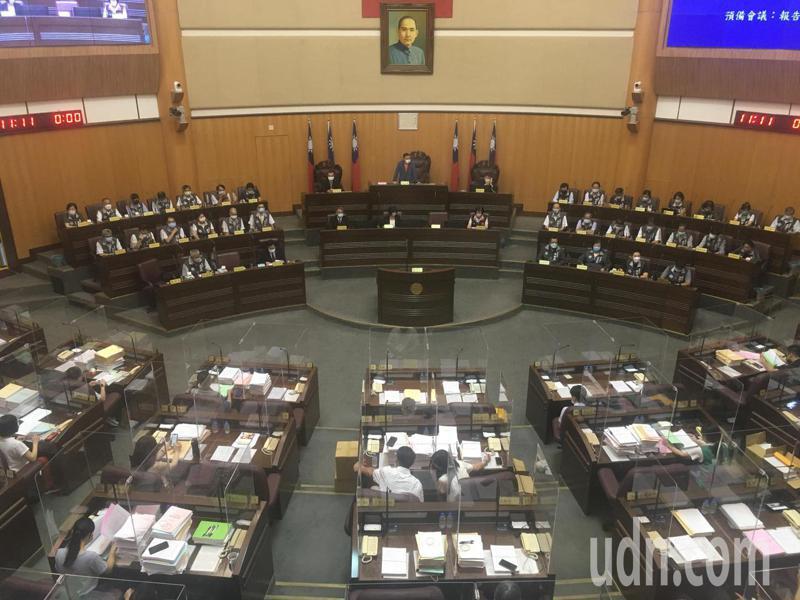桃園市議會今舉行第2屆第15次臨時會。記者陳俊智/攝影