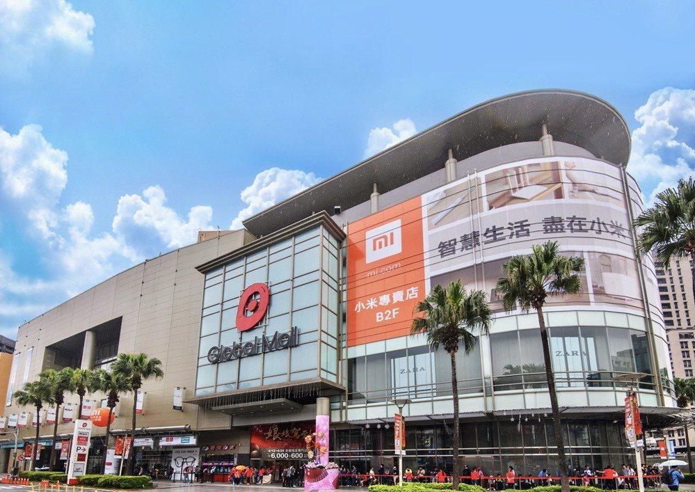 環球購物中心強調投資台中的立場不變,圖為新北中和店。環球購物中心提供