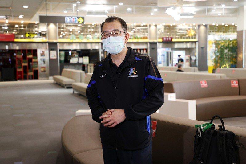 張少熙準備前往東京。攝影/余承翰攝影