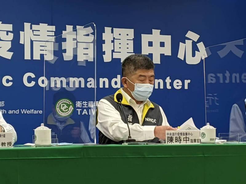 圖為中央流行疫情指揮中心指揮官陳時中。報系資料照/記者謝承恩攝影