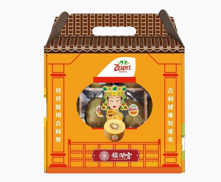 Zespri × 大甲鎮瀾宮吉利拜拜箱,內含11顆奇異果,特價299元,限量5萬...